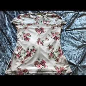 Love On Tap Floral Top Size XL